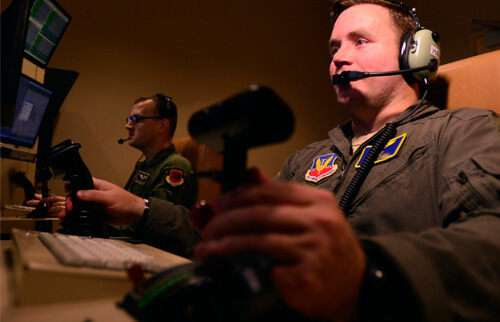 Drone Pilot In The US Airforce