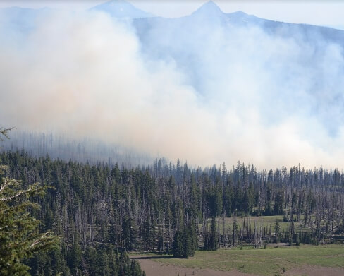 drones help with wildfire